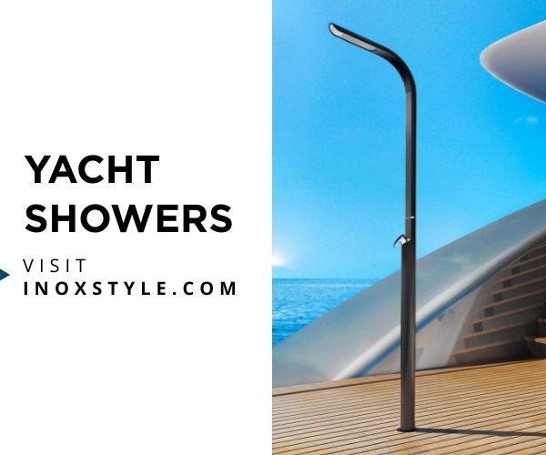 Inoxstyle Yacht Showers